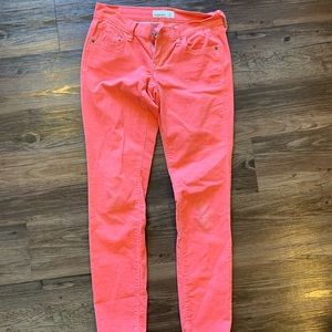Old Navy Corduroy Peach Colored Pants